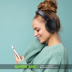휴라이즈 QH900 노이즈캔슬링 유무선 블루투스 헤드폰