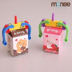 모니 유아 우유팩 손잡이 우유클립