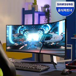 오디세이 G9 S49AG950 49 게이밍 모니터 Mini LED  DQHD 240Hz