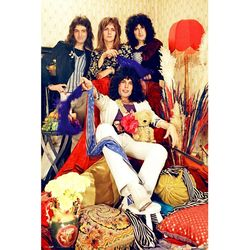 LP1575 퀸(Queen) 밴드 (61x91) 포스터