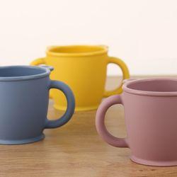 실리콘 베어 양손 컵 유아 아기 어린이집 물컵 양치컵 SH008