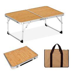 알루미늄 미니 2폴딩 테이블 전용가방포함