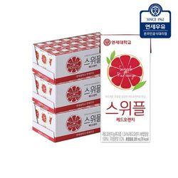 [연세우유] 연세 스위플 레드오렌지 200ml (72팩)