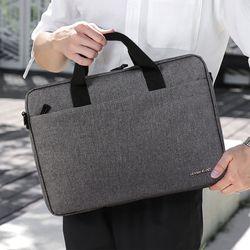 직장인 회사원 수납 편리한 심플 비즈니스 서류가방