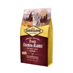카니러브 고양이 사료 닭고기와 토끼 캣 2KG
