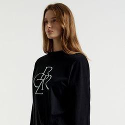 [21FW] 그래픽 베이직 긴팔 티셔츠BLACK