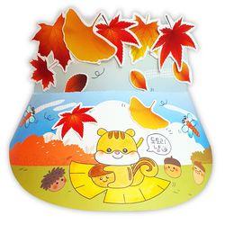 가을 낙엽 썬캡 모자만들기