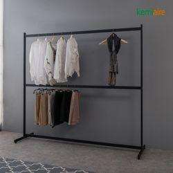 해드림 철재헹거 2000 2단 옷걸이 KYP-537 (거울별도)