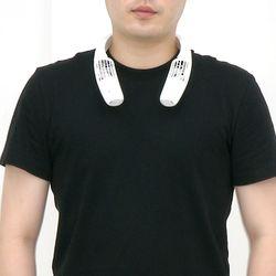 에어러블프로 휴대용 목걸이 선풍기 (자석+케이블) 화