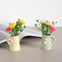 큐티알륨포트화분set 13cmP 조화 꽃 인테리어 FMFUFT