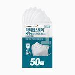 닥터펩스토리 KF94 새부리형 마스크 화이트 5매X10팩
