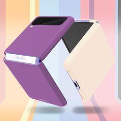 갤럭시 Z 플립 3 컬러 슬림 하드 제트 플립3 케이스