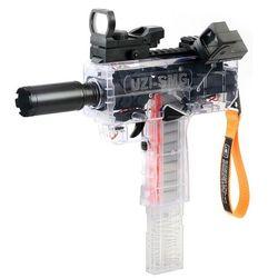 전동 연발 연탄총 스펀지 기관총 우지 에어소프트건