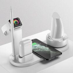 5in1 에어팟 애플워치 아이폰 무선 충전기 C타입 5핀