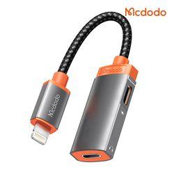 Mcdodo 맥도도 Lite 듀얼젠더 8핀 오디오+8핀 라이트닝 충전