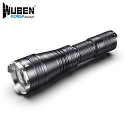 WUBEN 우벤 L60 줌라이트 LED후레쉬 18650랜턴 (B세트)