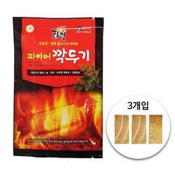 파이어깍두기 3개입 (100봉) 국산 착화제 착화탄 번개탄 캠핑숯