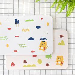 카카오프렌즈 에이프릴 샤워 규조토 발매트 패턴 (주방 욕실)