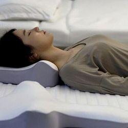 [특허품] 기능성 경추 베개 국내산 메모리폼 곧은척추 곧추베개