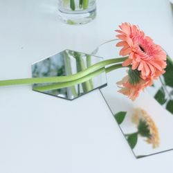 감성 아크릴 거울 미러 촬영 인테리어 소품 육각형