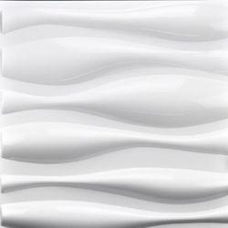 입체 벽장식 3D PVC 보드 패널 WAVE