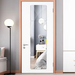 쉽게 깨지지 않는 DIY 붙이는 아크릴 안전거울 40x60cm (사각)