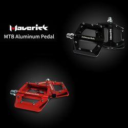 LUUTECH 자전거 메버릭 경량 알루미늄 페달 블랙레드