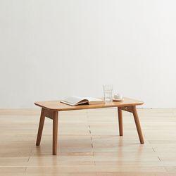 헤밀 1200 원목 접이식 소파 테이블