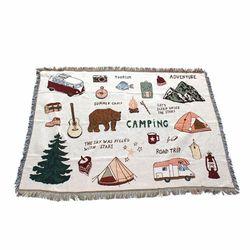 감성캠핑 카페트 A형 120x150 캠핑용품 블랭킷