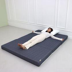 3단 접이식 바닥 토퍼 침대 자취 원룸 수면 기절 마약 매트리스