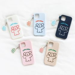 Little PaPer 리틀페퍼 실리콘 케이스 for iPhone11 pro