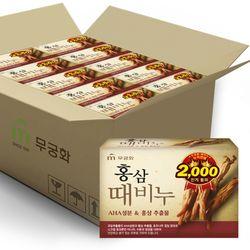 홍삼때비누 100g x 24개 (1BOX)