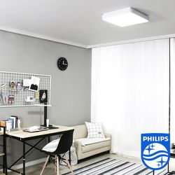 필립스 라르고 프리미엄 LED 방등 A형 500x500 (DIY 자가설치)