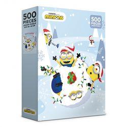 (알록퍼즐)500피스 미니언즈 크리스마스 직소퍼즐 AL5330