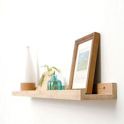 원목 인테리어 벽걸이 선반 대나무 일자 벽선반 모음
