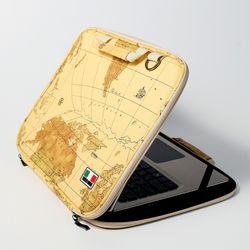 월드 901 오픈형 노트북파우치 가방 13인치 14인치 맥북 LG그램