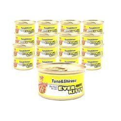 에버키티 캔 - 참치 치어 80g 1박스 (24개)통조림간식참치캔캔