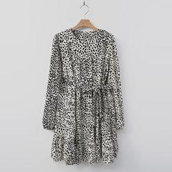 [무료배송] Leopard Cancan Dress