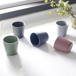 국내산 파스텔 실리콘 컵2Pset-5color