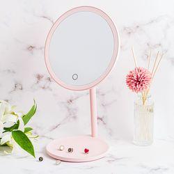패셔네이트 코코 LED조명 화장대 탁상거울