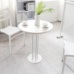 하우스틸 레이스 원형 2인 카페테이블