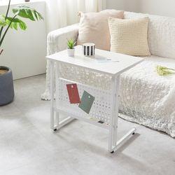 하우스틸 레이스 수납 사이드 테이블