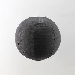 종이등 모빌장식 30cm (블랙)
