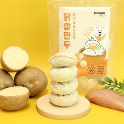 더독 닭살 만두 강아지 냉동 다이어트 수제간식 150g 감자볼 3팩