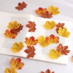 단풍잎 조화 한 봉지