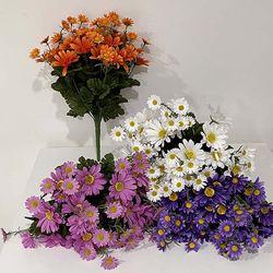 대형 데이지 조화 풍성 성묘꽃 화려 인테리어 꽃