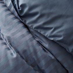 PRO모달 초광폭 2cm라인 보들보들한 이불커버S 블루