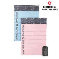 몽크로스 로잔 캠핑 2인용 더블침낭 사계절 차박 이불