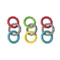 동글동글 고리형 3P 터그놀이 링 (DTT006) 색상혼합 3개 세트