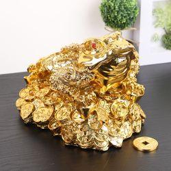 데일리데코 하누이 금 두꺼비 인테리어 소품